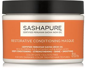 SHOP: Sashapure Restorative Conditioning Masque (8 oz.)