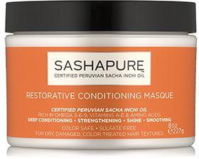 SHOP: Sashapure Restorative Conditioning Masque (8 oz.)