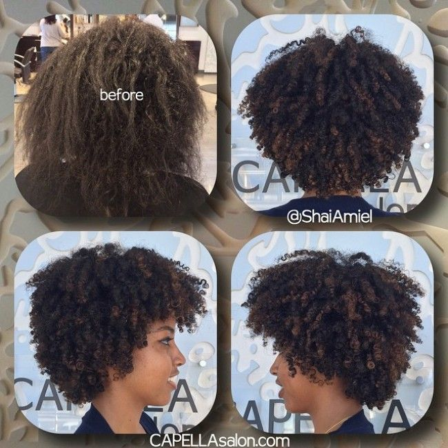 Shai Amiel Before After Curly haircut