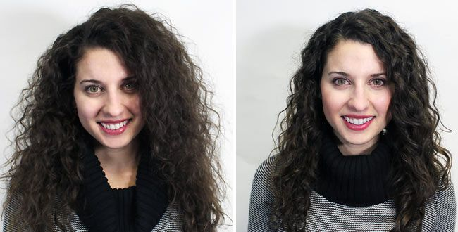 What A Brazilian Blowout Looks Like On Curly Hair And