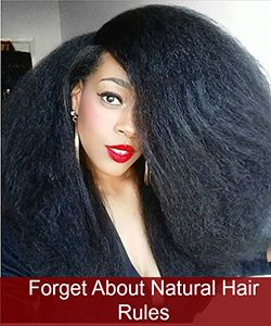 5 Natural Hair Taboos... That Some Curlies Love to Break