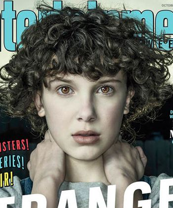 Stranger Things' Millie Bobby Brown Has Curly Hair Now