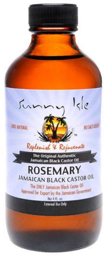Sunny Isle Jamaican Black Castor Oil - Rosemary - 4 oz. bottle | SHOP NaturallyCurly