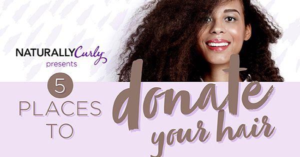 5 Places to Donate Hair | NaturallyCurly.com | NaturallyCurly.com