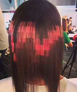 Love It or Leave It: the Pixelated Hair Color Trend