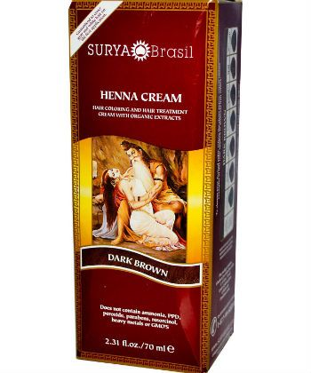 surya henna coloring powder