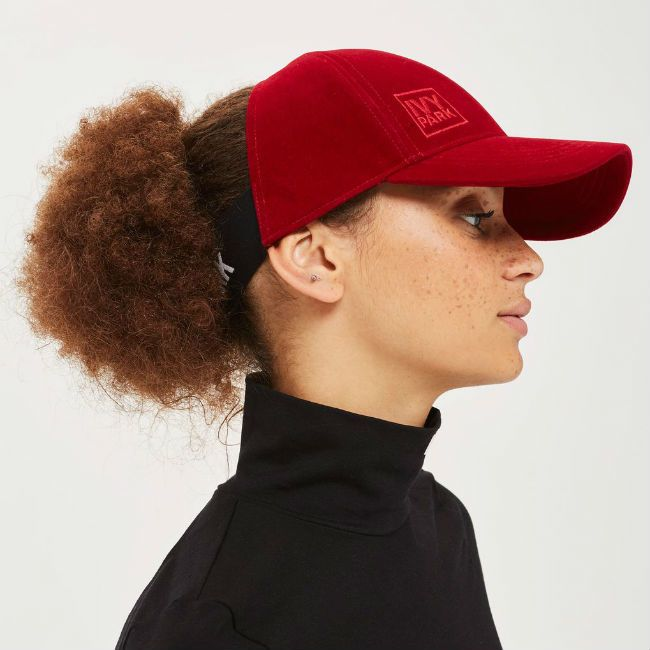 beyonce backless hat