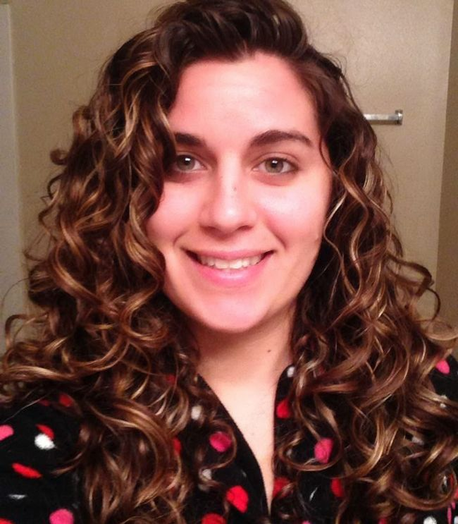 Curly Girl Method after month 1 results