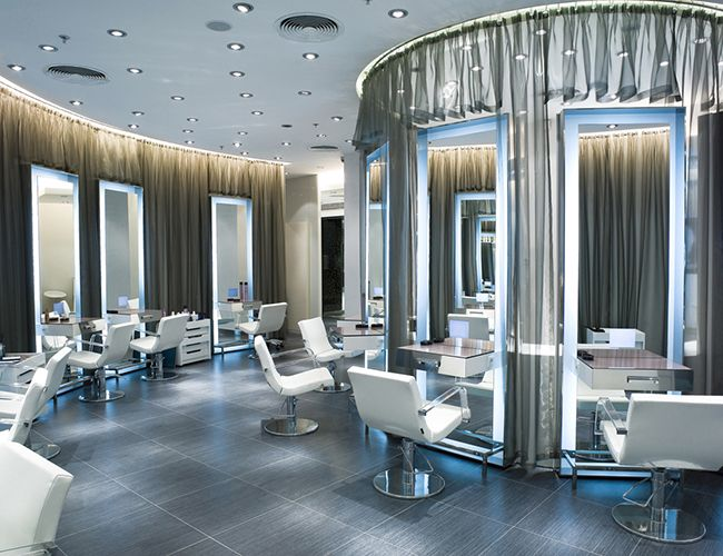 salon hair salons interior natural beauty york ny luxury spa modern decor curly looking naturallycurly stations stylist nail barber light