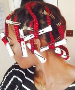 How To Get Your Best Braid-Out Ever On Type 4 Hair