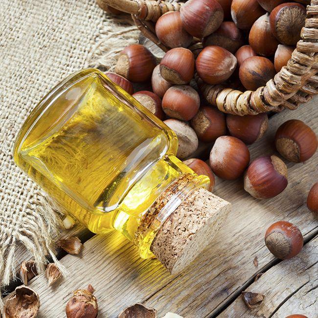 benefits of hazelnut oil for dry hair