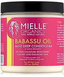 SHOP: Mielle Organics Babassu Oil & Mint Deep Conditioner (8 oz.)