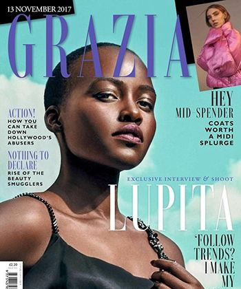 Lupita Nyong'o Claps Back at UK Magazine for Cropping Out Her Natural Hair #dtmh