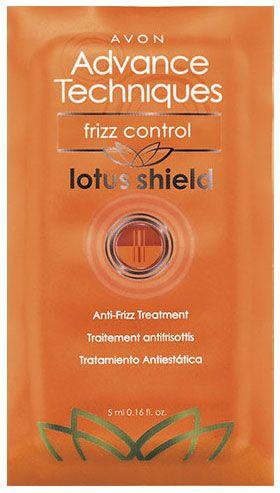 Avon Advance Techniques Frizz Control Lotus Shield