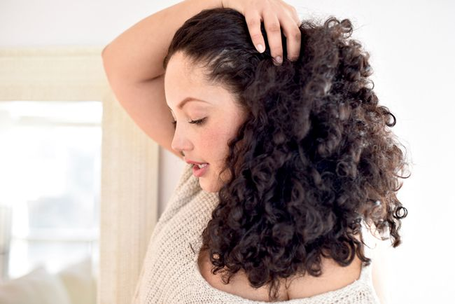 This Air Drying Trick Is A Game Changer For Curly Hair