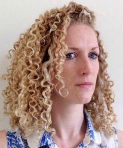 """I Had No Idea What to Do with My Curls, So I Tied Them Back"""