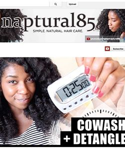 Naptural85 Detangles and Co-Washes...In Under 25 Minutes?