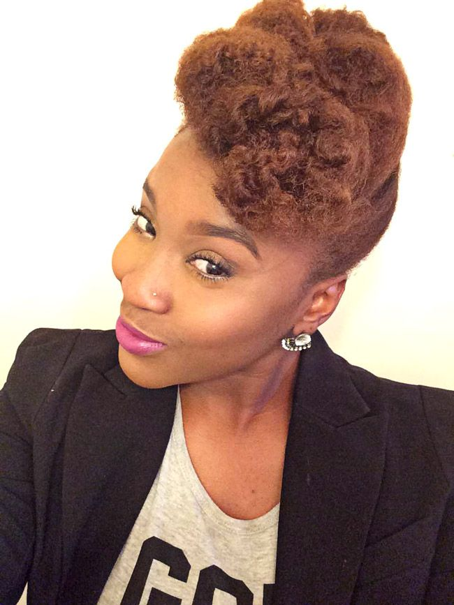 Try This Textured Pompadour Tutorial for Natural Hair   NaturallyCurly.com