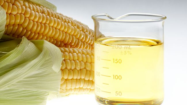 corn oil for hair