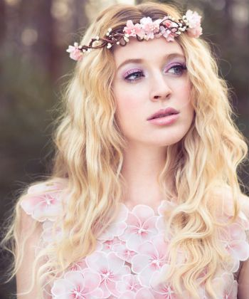 floral headpiece crown