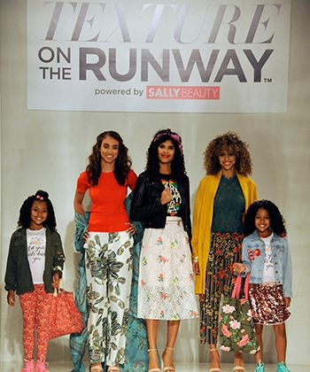 Celebrity Stylist Wouri Vice Partners With Curlformers To Bring Bohemian Chic to Texture on The Runway 2017