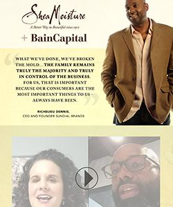 The Truth About the SheaMoisture + Bain Capital Partnership