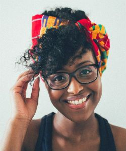 World of Curls: Nelly Muse, Naturalista in Paris