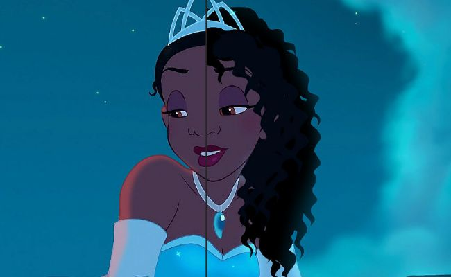 Princess tiana now has natural hair kaley cuoco has pink eyebrows photo thecheapjerseys Images