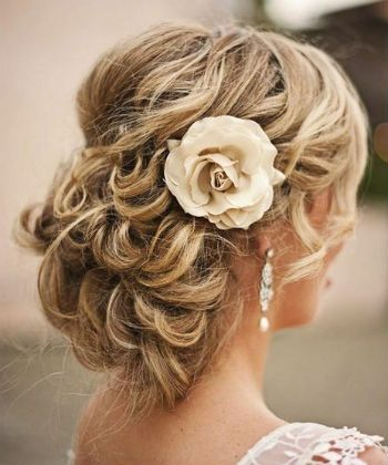 regal bridal hair