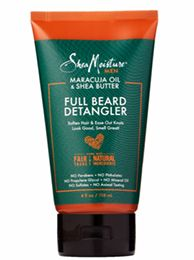 SHOP: SheaMoisture Men Maracuja Oil & Shea Butter Full Beard Detangler (4 oz.)