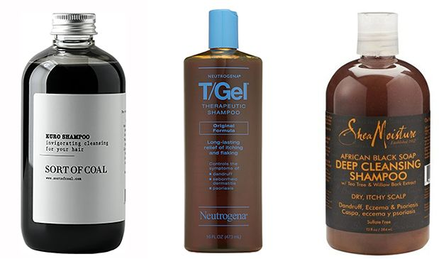 charcoal for hair