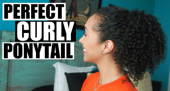 How To Create The Perfect Ponytail On Curly Hair Naturallycurly Com