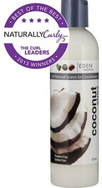 eden coconut shea all natural leave in