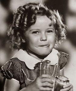 Curly Childhood Starlet Shirley Temple Passes