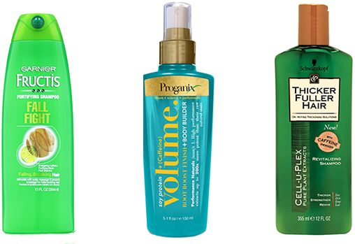 caffeine in hair products