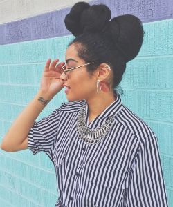 Quick Twisted Updo For The Lazy (But Trendy) Natural