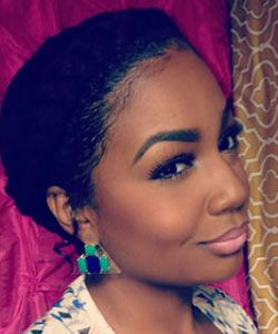 Gorgeous Goddess Braid on Short Natural Hair | Tutorial