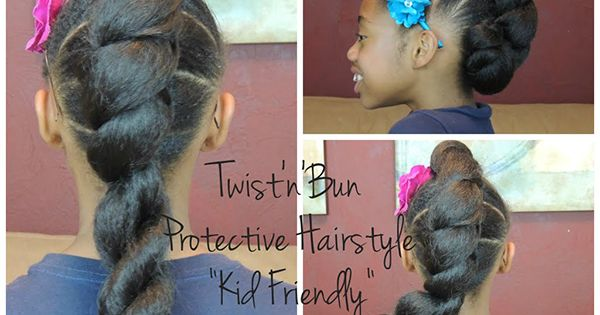 5 Kid-Friendly Protective Hairstyles with Extensions ...