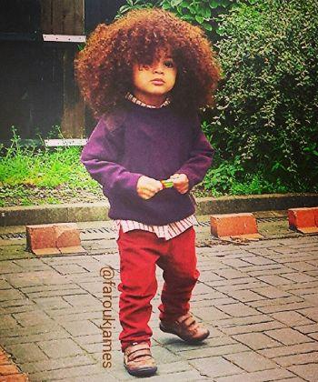 farouk james curly kid