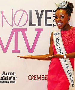 This Contestant Wore Her Natural Hair on Miss America (When She Was Told Not To)