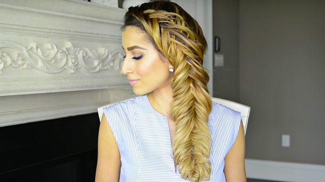 dutch fishtail fancy hair