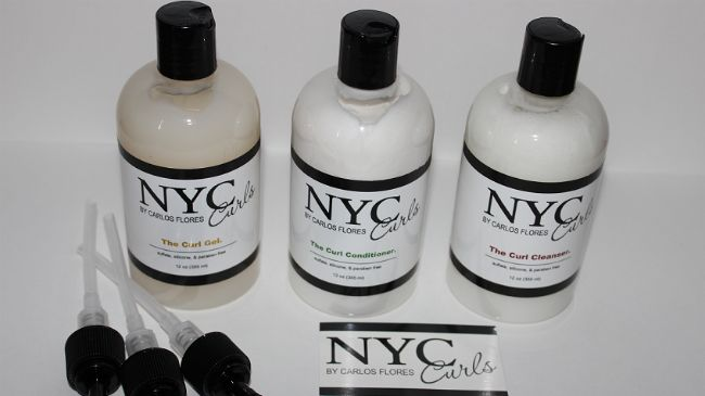 nyc curls product set