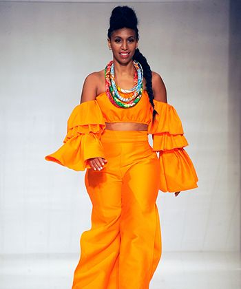 Cantu Beauty Came to Slay at Texture on the Runway