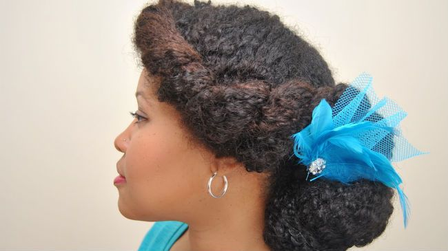 A Formal Updo For Naturally Curly Hair Naturallycurly Com