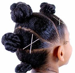 Curly Kids Will LOVE the EDEN BodyWorks BunHawk!