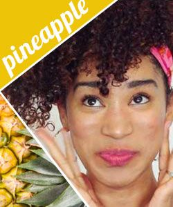 How to Pineapple Curly Hair | Video