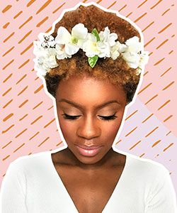 5 Gorgeous Wedding Hair Ideas with Flowers