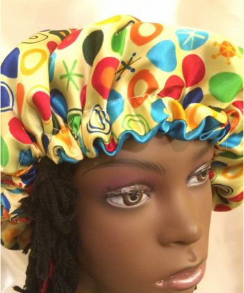 reversible hair bonnet