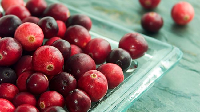 cranberries for scalp inflammation