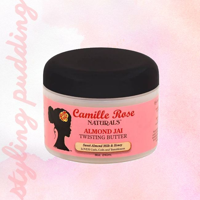 tub of camille rose naturals almond jai twisting butter
